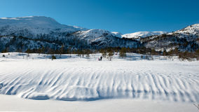 τοπίο νορβηγικά Στοκ εικόνες με δικαίωμα ελεύθερης χρήσης