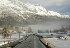 τοπίο νορβηγικά Στοκ εικόνα με δικαίωμα ελεύθερης χρήσης
