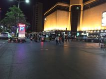 τοπίο νύχτας της Κίνας στοκ φωτογραφίες με δικαίωμα ελεύθερης χρήσης