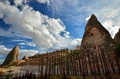 Τοπίο ο Cappadocia Στοκ φωτογραφία με δικαίωμα ελεύθερης χρήσης