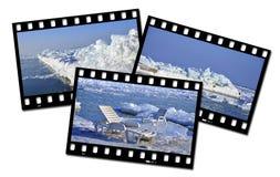 Τοπίο πάγου Στοκ φωτογραφίες με δικαίωμα ελεύθερης χρήσης