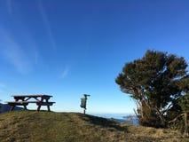 Τοπίο πάνω από το βουνό στοκ εικόνες