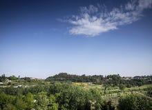 Τοπίο πάρκων πόλεων vila nova de famalicao της βόρειας Πορτογαλίας στοκ εικόνες