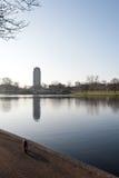 Τοπίο πάρκων του Λονδίνου Στοκ φωτογραφία με δικαίωμα ελεύθερης χρήσης
