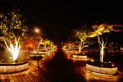 Τοπίο πάρκων Hangzhou city's στοκ εικόνες με δικαίωμα ελεύθερης χρήσης