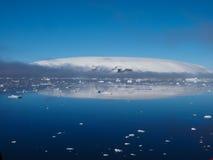 Τοπίο παγόβουνων της Ανταρκτικής Στοκ εικόνα με δικαίωμα ελεύθερης χρήσης