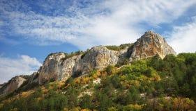 Τοπίο πανοράματος βουνών Στοκ φωτογραφία με δικαίωμα ελεύθερης χρήσης