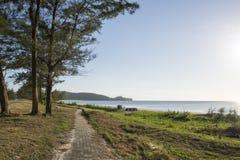 Τοπίο παραλιών Sabah Στοκ Φωτογραφίες