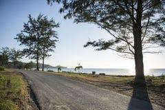 Τοπίο παραλιών Sabah Στοκ Εικόνες