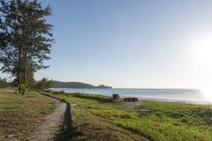 Τοπίο παραλιών Sabah Στοκ φωτογραφία με δικαίωμα ελεύθερης χρήσης