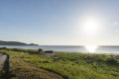 Τοπίο παραλιών Sabah Στοκ εικόνες με δικαίωμα ελεύθερης χρήσης