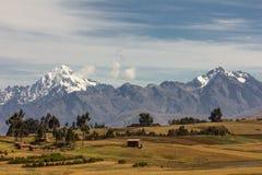 Τοπίο Περού βουνών Στοκ φωτογραφίες με δικαίωμα ελεύθερης χρήσης