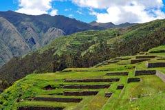 τοπίο Περού chinchero Στοκ Φωτογραφία