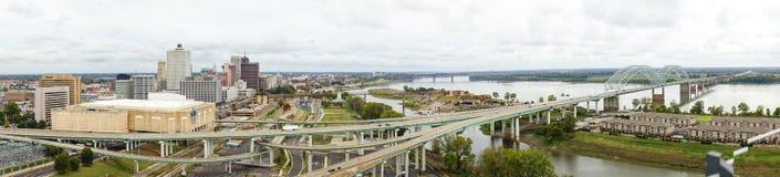 Τοπίο ποτάμι Μισισιπή Στοκ φωτογραφία με δικαίωμα ελεύθερης χρήσης