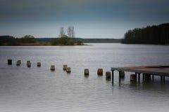 Τοπίο ποταμών Στοκ Εικόνες