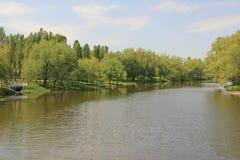 Τοπίο ποταμών Στοκ εικόνες με δικαίωμα ελεύθερης χρήσης