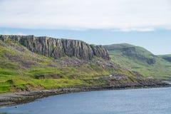 Τοπίο που βλέπει από το λόφο Duntulm Castle, Σκωτία, UK στοκ εικόνες με δικαίωμα ελεύθερης χρήσης