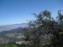 Τοπίο που συλλαμβάνεται Cerro Quemado, Quetzaltenango στοκ εικόνες