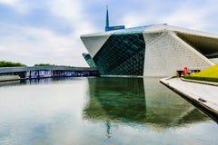 Τοπίο πρωινού Οπερών Guangzhou στοκ εικόνα
