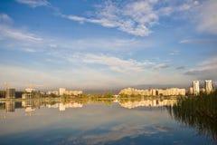 τοπίο πόλεων Στοκ Εικόνα