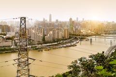 Τοπίο πόλεων Chongqing Στοκ Εικόνα