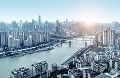 Τοπίο πόλεων Chongqing Στοκ Φωτογραφία