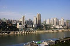 Τοπίο πόλεων της Κίνας Chongqing Στοκ φωτογραφία με δικαίωμα ελεύθερης χρήσης