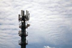 Τοπίο πύργων κινητών τηλεφώνων Στοκ Εικόνες