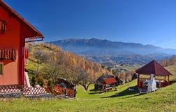 τοπίο Ρουμανία φθινοπώρο&ups Στοκ Εικόνες