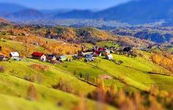 τοπίο Ρουμανία φθινοπώρο&ups Στοκ Φωτογραφία
