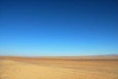 τοπίο Σαχάρα ερήμων Στοκ Εικόνα