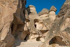 Τοπίο σε Cappadocia, Τουρκία Στοκ φωτογραφία με δικαίωμα ελεύθερης χρήσης