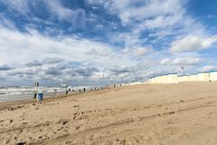 Τοπίο σε Katwijk aan Zee στοκ φωτογραφία