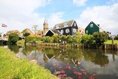 Τοπίο σε Marken των Κάτω Χωρών Στοκ φωτογραφία με δικαίωμα ελεύθερης χρήσης