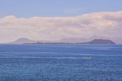 Τοπίο στα τροπικά ηφαιστειακά Κανάρια νησιά Ισπανία Στοκ Φωτογραφία