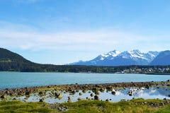 Τοπίο στην Αλάσκα Στοκ φωτογραφία με δικαίωμα ελεύθερης χρήσης