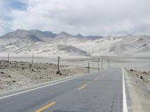 Τοπίο στην εθνική οδό Karakoram Στοκ φωτογραφία με δικαίωμα ελεύθερης χρήσης