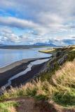 Τοπίο στην Ισλανδία μιας ανατολικής χερσονήσου στοκ φωτογραφία με δικαίωμα ελεύθερης χρήσης