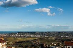 Τοπίο στην Ιταλία Στοκ εικόνες με δικαίωμα ελεύθερης χρήσης