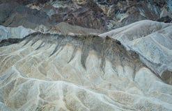 Τοπίο στην κοιλάδα θανάτου, Καλιφόρνια, ΗΠΑ Στοκ εικόνες με δικαίωμα ελεύθερης χρήσης