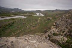 Τοπίο στην περιοχή uplistsikhe στοκ εικόνες με δικαίωμα ελεύθερης χρήσης