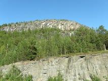 Τοπίο στη βόρεια Νορβηγία Στοκ Φωτογραφίες