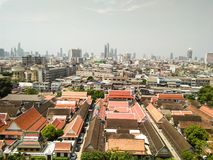 Τοπίο στη Μπανγκόκ στοκ εικόνα με δικαίωμα ελεύθερης χρήσης