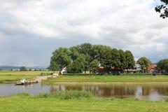 Τοπίο στον ποταμό Στοκ Φωτογραφία