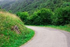 Τοπίο στο βουνό Γαλλία Ευρώπη Στοκ Φωτογραφία
