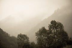 Τοπίο στο βουνό Ευρώπη Στοκ εικόνα με δικαίωμα ελεύθερης χρήσης