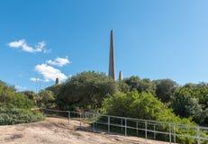Τοπίο στο γλωσσικό μνημείο αφρικανολλανδικής σε Paarl στοκ φωτογραφίες