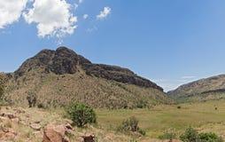 Τοπίο στο εθνικό πάρκο Marakele, Νότια Αφρική Στοκ Εικόνες