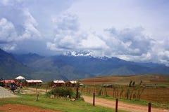 Τοπίο στο Περού στοκ φωτογραφία με δικαίωμα ελεύθερης χρήσης