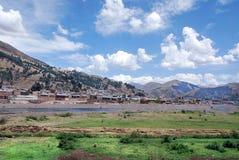 Τοπίο στο Περού στοκ φωτογραφία